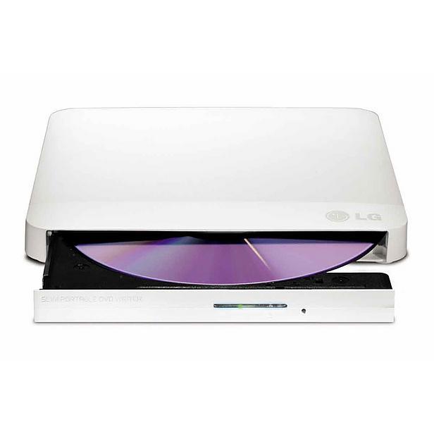 LG GP57EW40 Externí Slim DVD vypalovací mechanika bílá