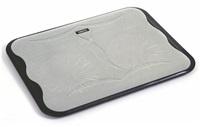 """OMEGA chladič pod notebook ICE CUBE, pro notebooky 10 - 17"""", 2x 14cm ventilátor, 2x USB port, černý"""