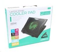 """OMEGA chladič pod notebook SUB ZERO, pro notebooky 10 - 17"""", 16cm ventilátor, 2x USB port"""
