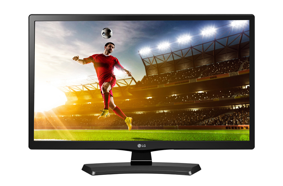"24"" LG LED 24MT48DF - HD Ready, 16:9, HDMI, USB, SCART, DVB-T/C, repro., ovladač"