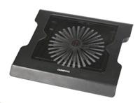 """OMEGA chladič pod notebook SNOWFLAKE, pro notebooky 10 - 17"""", 14cm ventilátor, 2x USB port"""