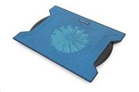 """OMEGA chladič pod notebook CHILLY, pro notebooky 10 - 15,6"""", 16cm ventilátor, 4x USB port, modrý"""