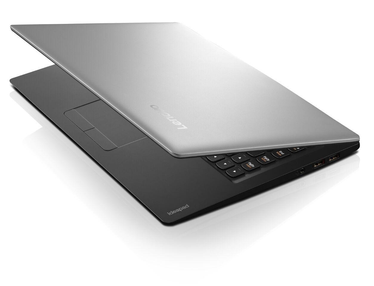 """Lenovo IdeaPad 100S-14IBR Celeron N3060 2,48GHz/2GB/32GB eMMC/14"""" HD/WIN10 stříbrná 80R9009UCK"""