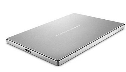 LaCie externí HDD Porsche Design Mobile Drive 2TB, 2.5'' USB 3.1