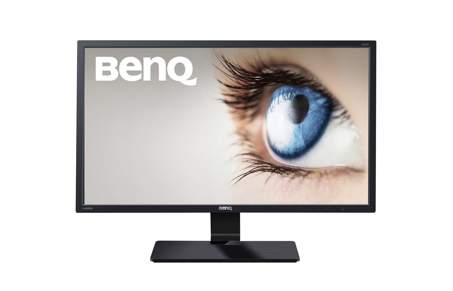 "BenQ LCD GC2870H 28"" W VA LED/20M:1/5ms/300nits/D-SUB/2xHDMI/VESA/Low Blue Light/Flicker-free/AMA/Senseye"