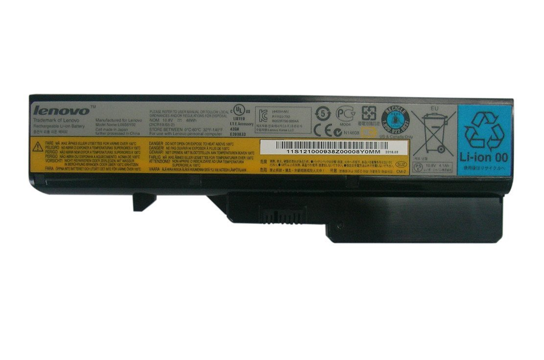 Lenovo Battery IdeaPad G460/G465/G560/G565/V360/Z460/Z560/Z565 6 cell Li-Ion