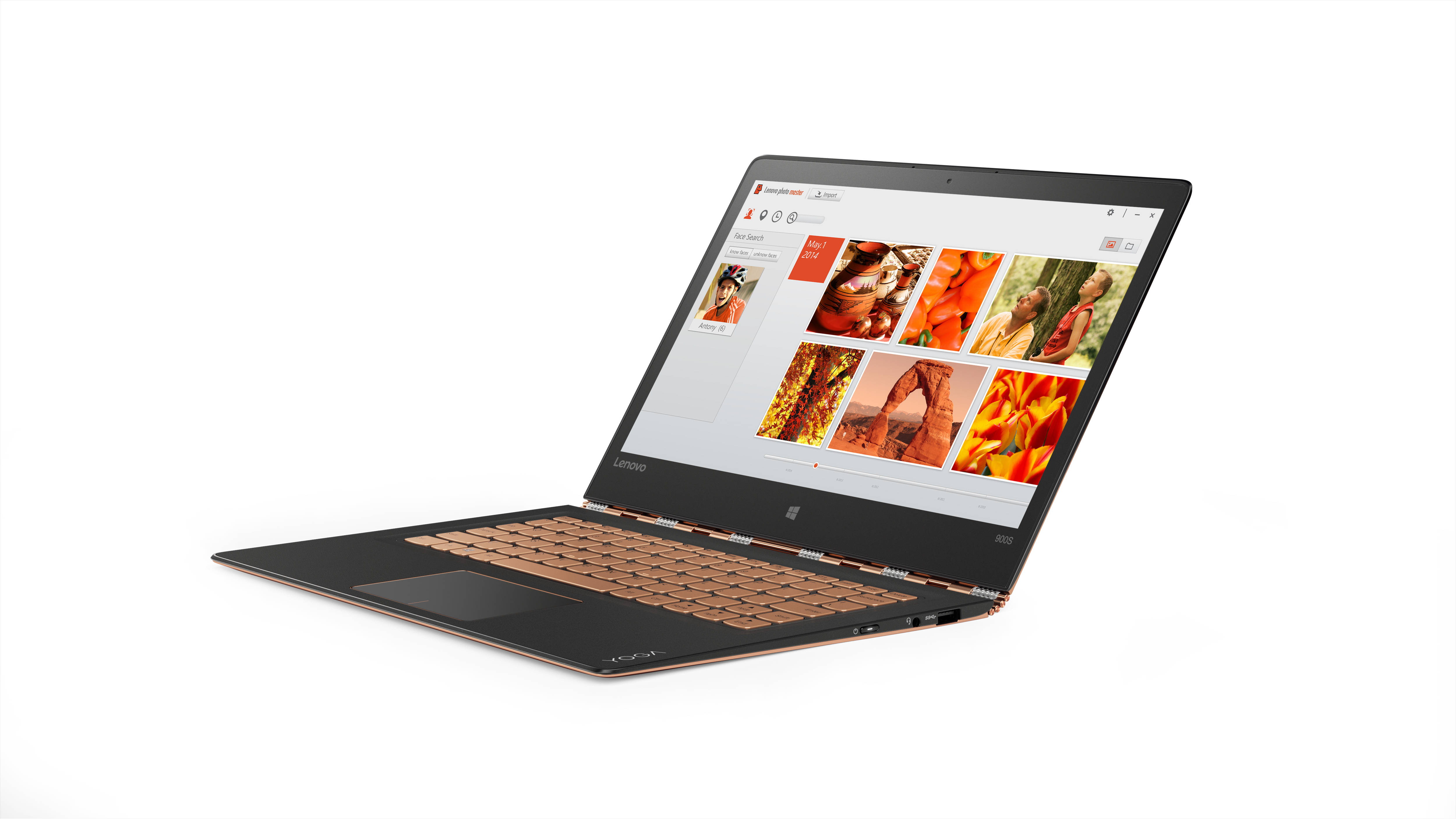 "Lenovo YOGA 900S-12ISK M5-6Y54 2,70GHz/8GB/256GB SSD/12,5"" QHD/IPS/multitouch/WIN10 PRO zlatá 80ML004VCK"