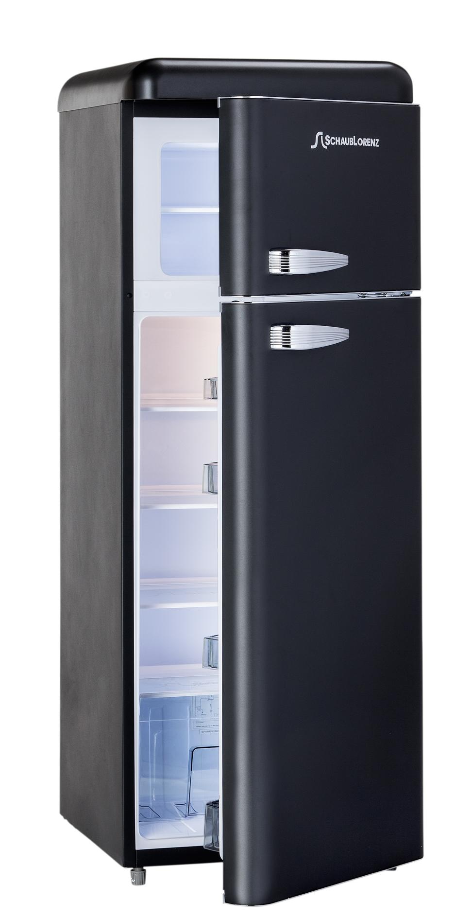 Chladnička Schaub Lorenz SL 210 B černá matná + TOPINKOVAČ
