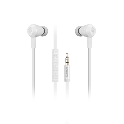 Lenovo 500 Extra-bass In-ear headphone Pearl White