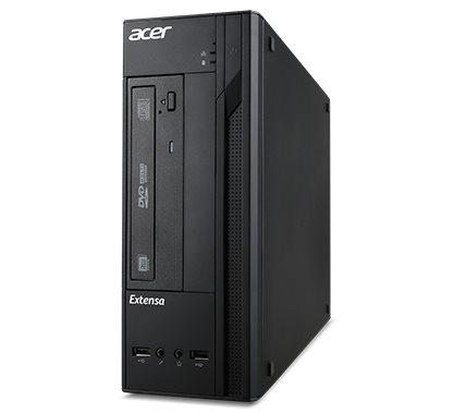 ACER PC Extensa X2610G miniTower - N3050@1.6GHz,4GB,500GB/7200, intel HD,DVD,USB kl+myš,FreeDOS