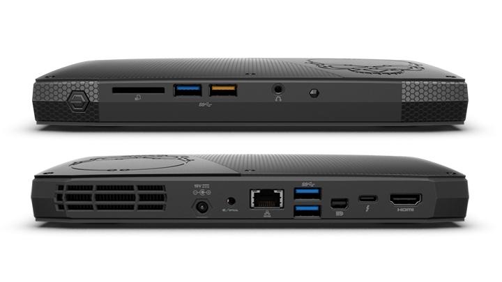 INTEL NUC Skull Canyon/Kit NUC6i7KYK/i7-6770HQ/DDR4-2133/USB3.0/HDMI/mDP/Thunder/Intel Iris Pro Graphics/WifFi//M2