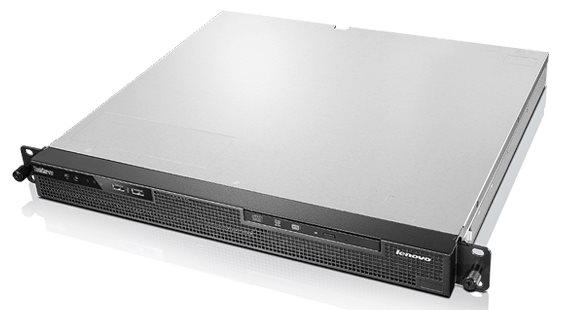 """Lenovo RS140 Xeon 4C E3-1226v3 3.3GHz/1600MHz/8MB/1x4GB/ 2x1TB SATA NHS 3,5"""" (2)/HW RAID500/DVD-RW/300W fixed"""