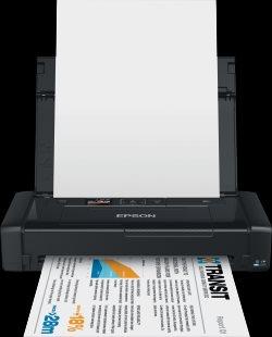 EPSON WorkForce WF-100W - A4/7-4 ppm/USB/WiFi/Mobilní tiskárna