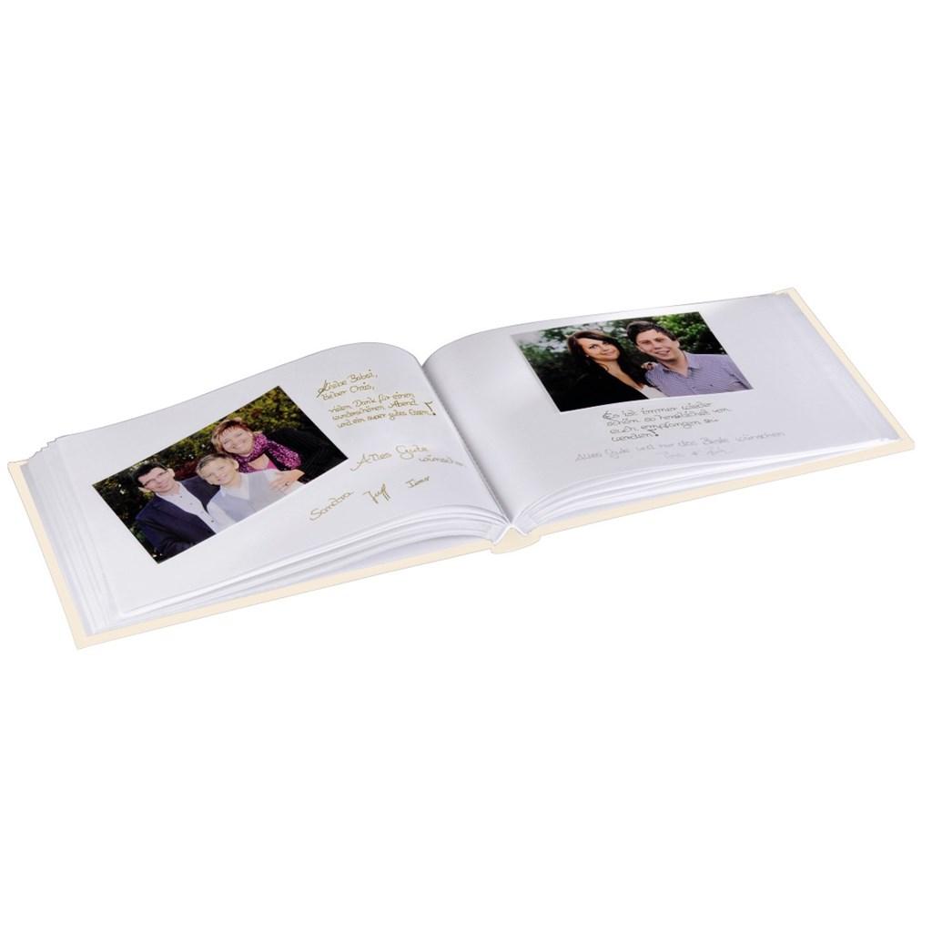 Hama 2v1 Foto album/kniha hostů ALMERIA 30x20/60