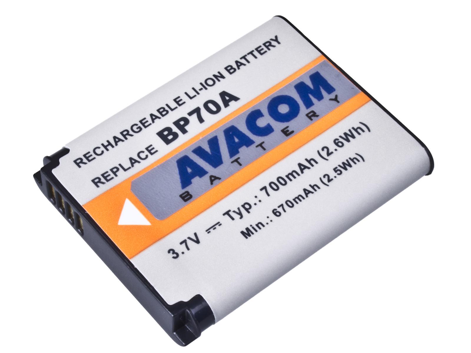 Baterie AVACOM Samsung BP-70A Li-ion 3.7V 700mAh