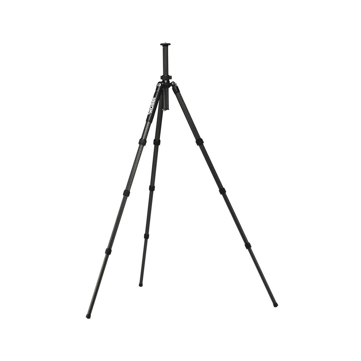 Rollei Solid Carbon Tripod Gamma/ Zátěž 16kg/ Vytažený 151 cm/ Karbon/ Černý