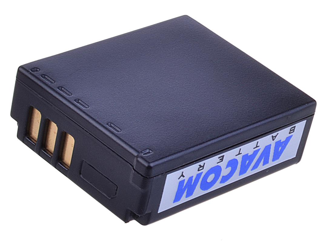 Náhradní baterie AVACOM Panasonic CGA-S007, DMW-BCD10 Li-ion 3.7V 1000mAh 3.7Wh