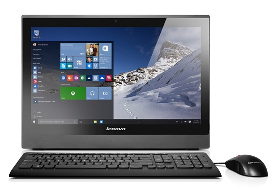 "Lenovo AIO SMB S400Z 21,5"" FHD/i5-6200U/4GB/8GB+1TB SSHD/HD Graphics/DVD-RW/WebCam/Win10PRO"