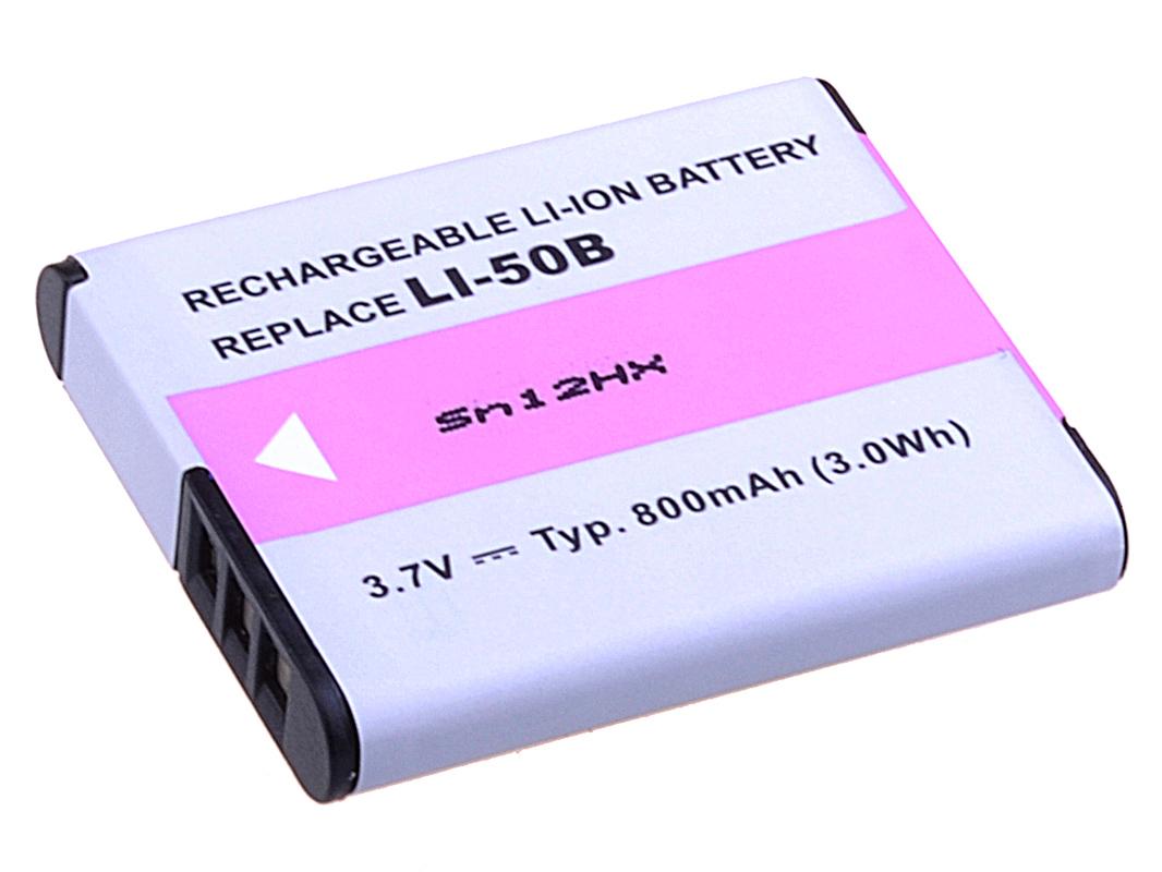 AVACOM Olympus Li-50B, Pentax D-LI92 Li-ion 3.7V 800mAh 3Wh