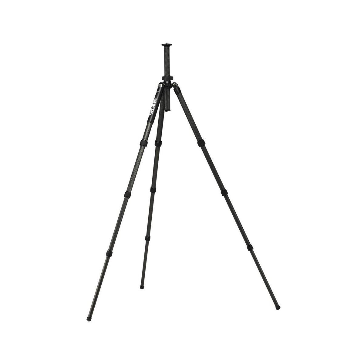 Rollei Solid Carbon Tripod Beta/ Zátěž 22kg/ Vytažený 165 cm/ Karbon/ Černý