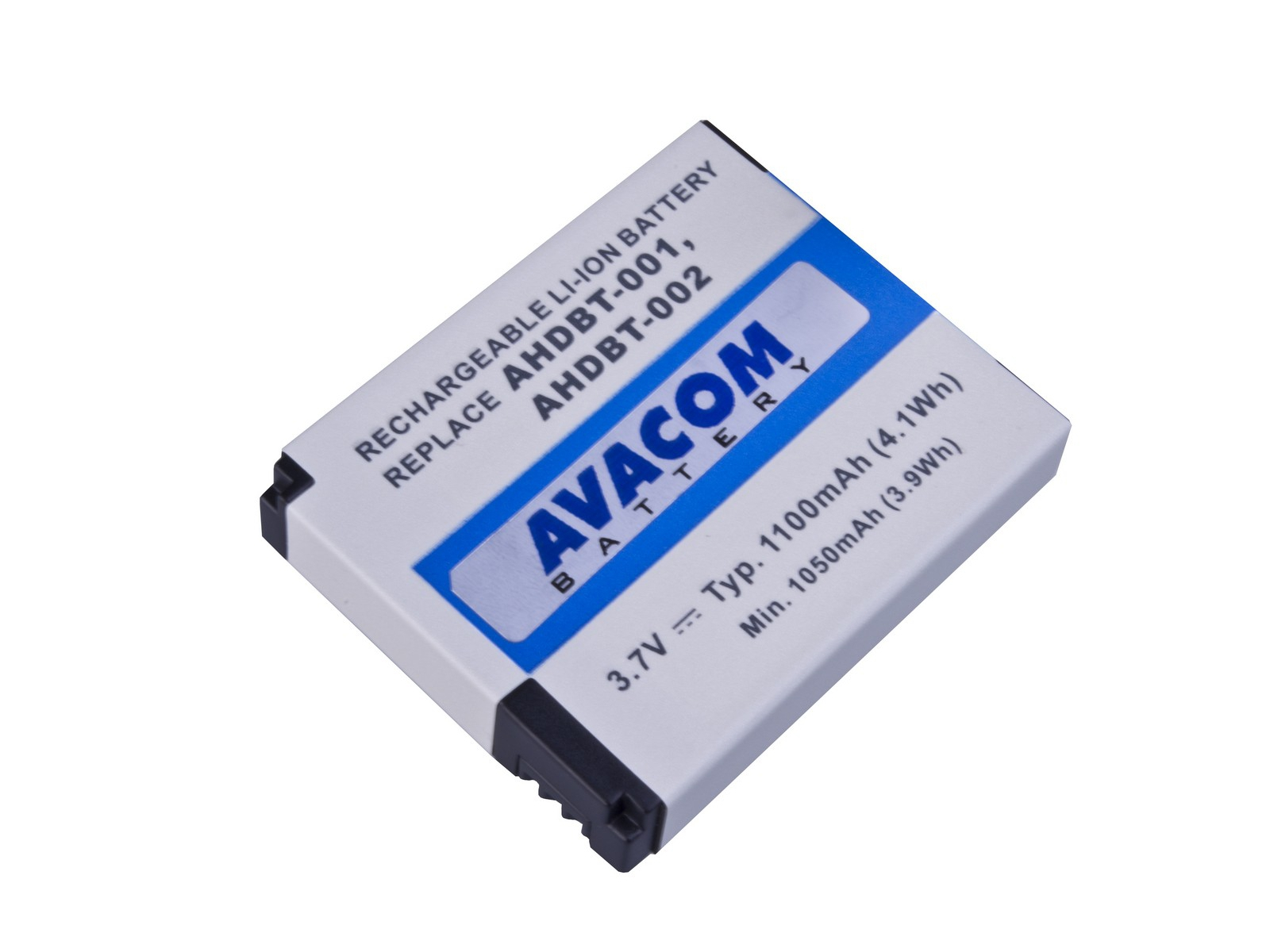 AVACOM GoPro AHDBT-001, AHDBT-002 Li-Ion 3.7V 1100mAh 4.1Wh