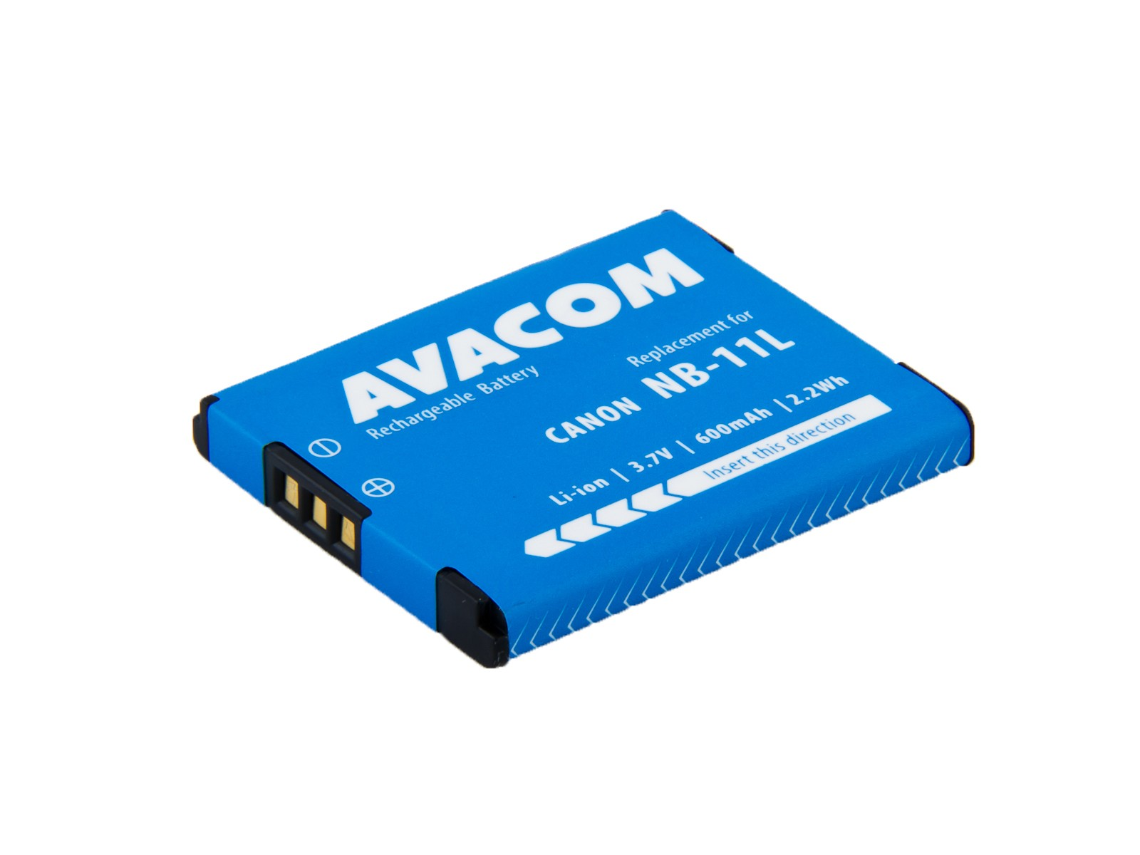 Náhradní baterie AVACOM Canon NB-11L Li-ion 3.7V 600mAh 2.2Wh