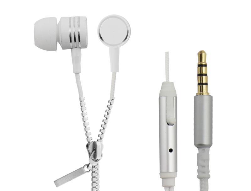 ESPERANZA EH161W sluchátka s mikrofonem- ZIPPER