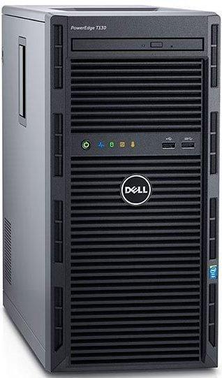 DELL PE T130 Xeon E3-1220 v5/8GB/4x1TB SAS/H330/RAID 1