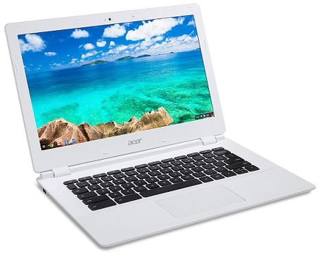 DEMO Acer Chromebook 13 (CB5-311P-T858) NVIDIA Tegra K1/4GB/eMMC 32GB/13,3 HD dotykový matný LCD/webcam/4cell/Google OS White