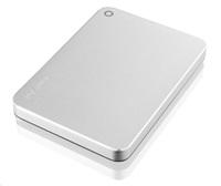 """TOSHIBA HDD CANVIO PREMIUM 3TB, 2,5"""", USB 3.0, metalická stříbrá"""