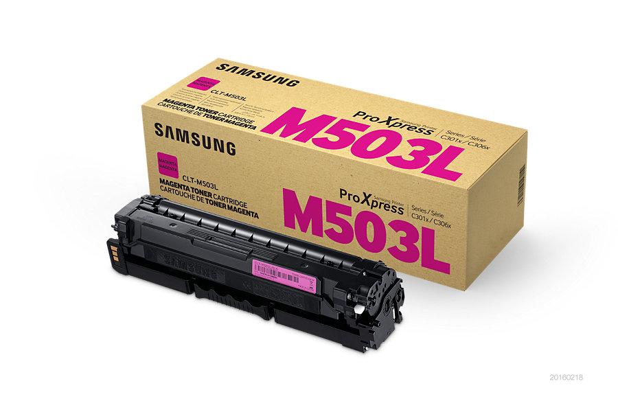 Samsung toner bar CLT-M503L/ELS pro C3010/C3060 Series - magenta - 5000 str.