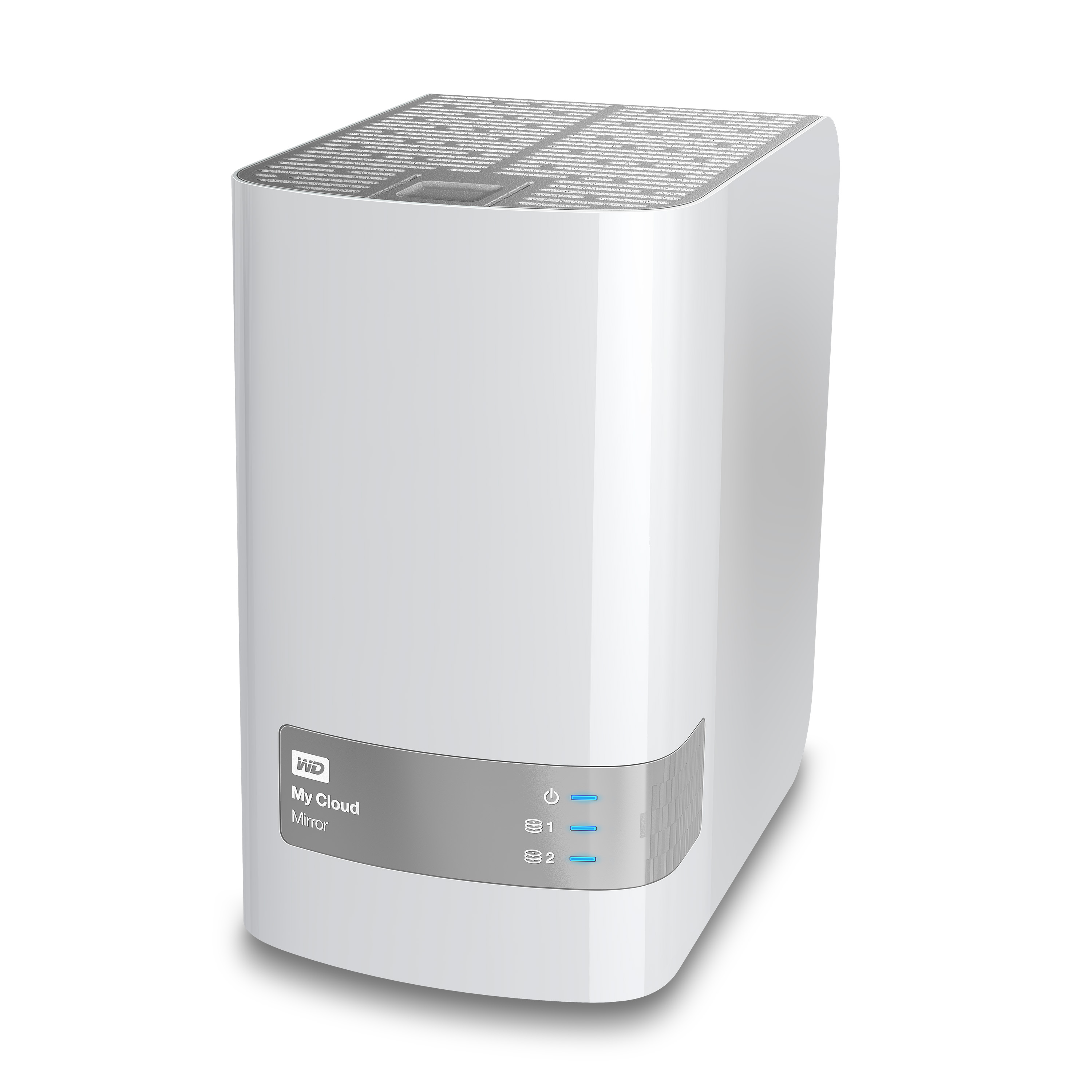 WD My Cloud 16TB (2x8TB) Mirror Personal Cloud Storage LAN RAID, USB 3.0