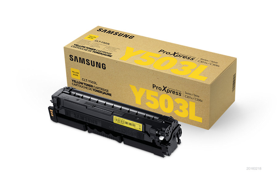Samsung toner bar CLT-Y503L/ELS pro C3010/C3060 Series - yellow - 5000 str.