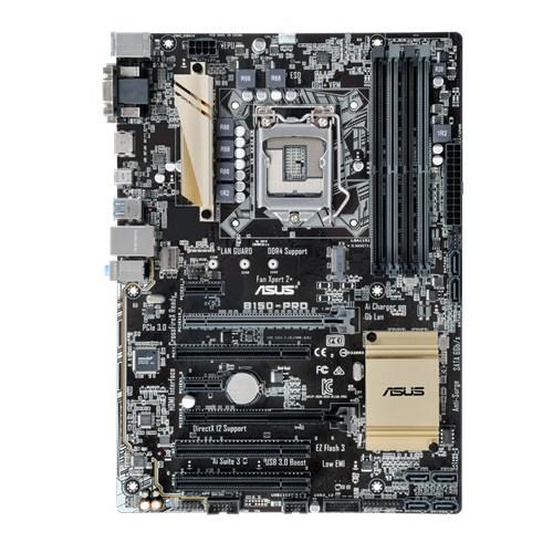 ASUS MB Sc LGA1151 B150-PRO, Intel B150, 4xDDR4, VGA