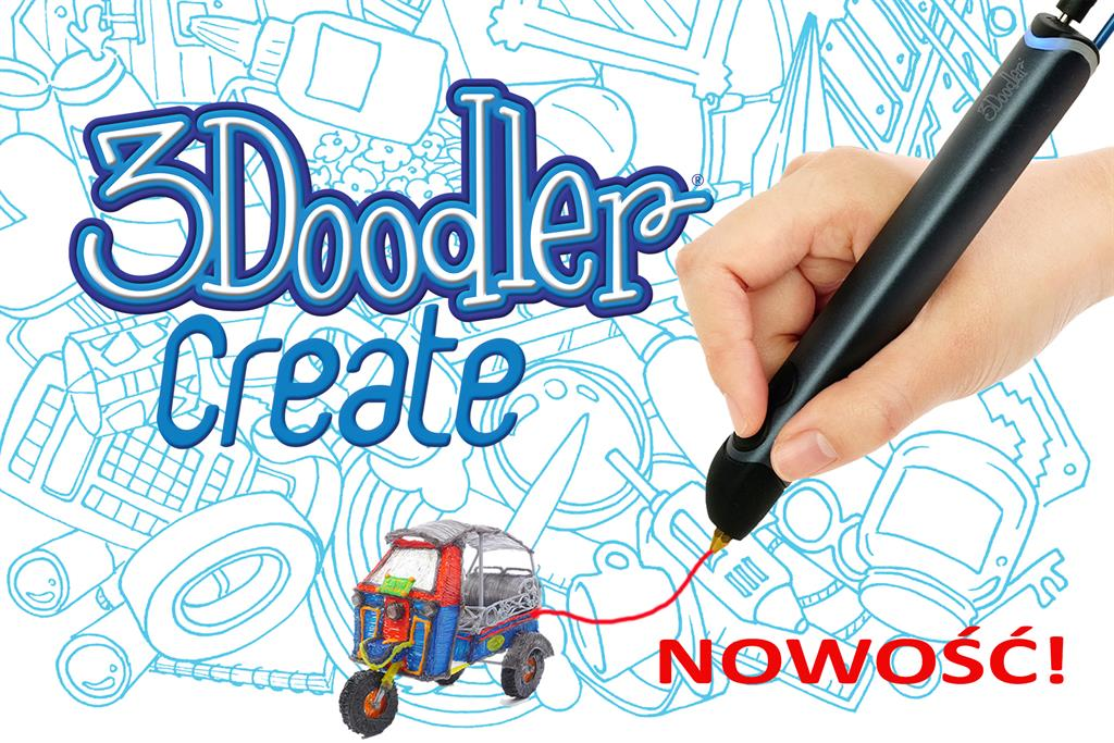 3DOODLER 3Doodler Create - New version of the pen 3Doodler, manual 3D printer