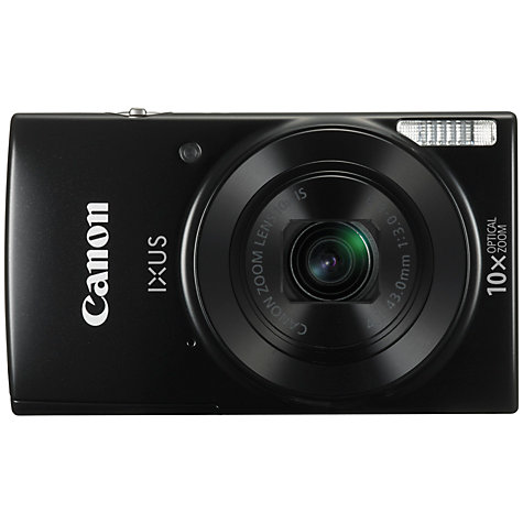 "Canon IXUS 182 BLACK - 20MP, 10x zoom, 24-240mm, 2,7"", HD video"