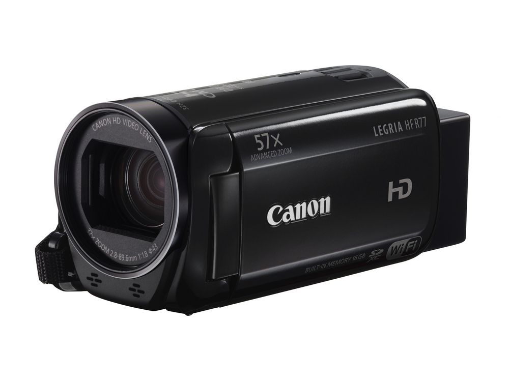 Canon LEGRIA HF R77 Black , Full HD , 32x zoom