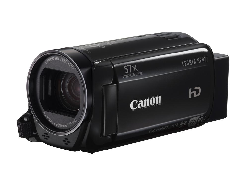 Canon LEGRIA HF R77 Black , Full HD , 32x zoom