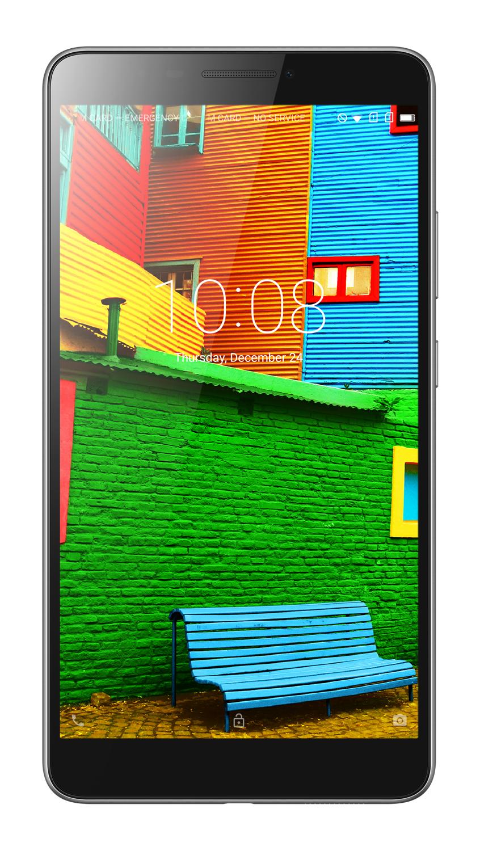 "Lenovo PHAB MSM8916 4-core 1,20GHz/2GB/16GB+microSD/6,98"" HD/IPS/13MP+5MP foto/GSM dualSIM/4G/Android5.1 černáZA0L0171CZ"