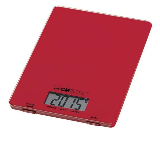 Kuchyňská váha Clatronic KW 3626 - červená