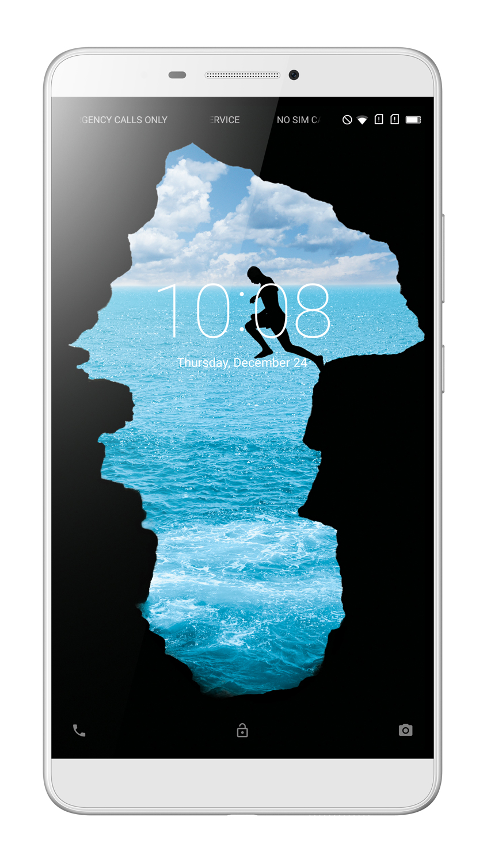 "Lenovo PHAB MSM8916 4-core 1,20GHz/2GB/16GB+microSD/6,98"" HD/IPS/13MP+5MP foto/GSM dualSIM/4G/Android5.1 bílá ZA0L0177CZ"