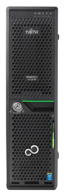 Primergy TX1320 M1 LFF E3-1220v3(QC) 8GB 2x1TB DVDRW 250W 3y warranty