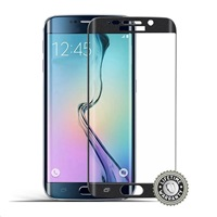 Screenshield™ SAMSUNG G925 Galaxy S6 Edge Tempered Glass protection (black)