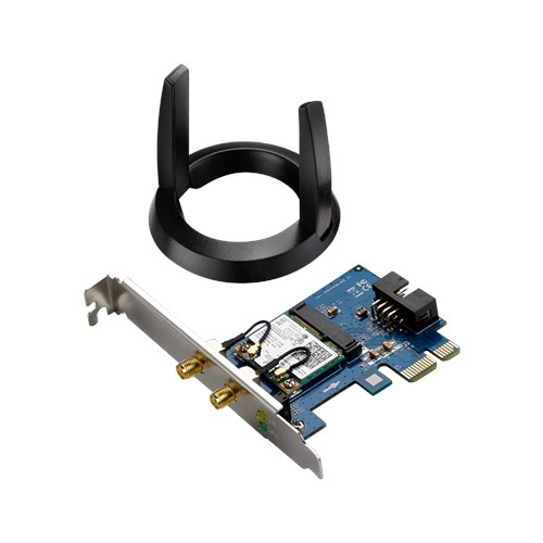ASUS PCE-AC55BT Wireless AC1200 PCI-E card, Bluetooth 4.0 Adapter