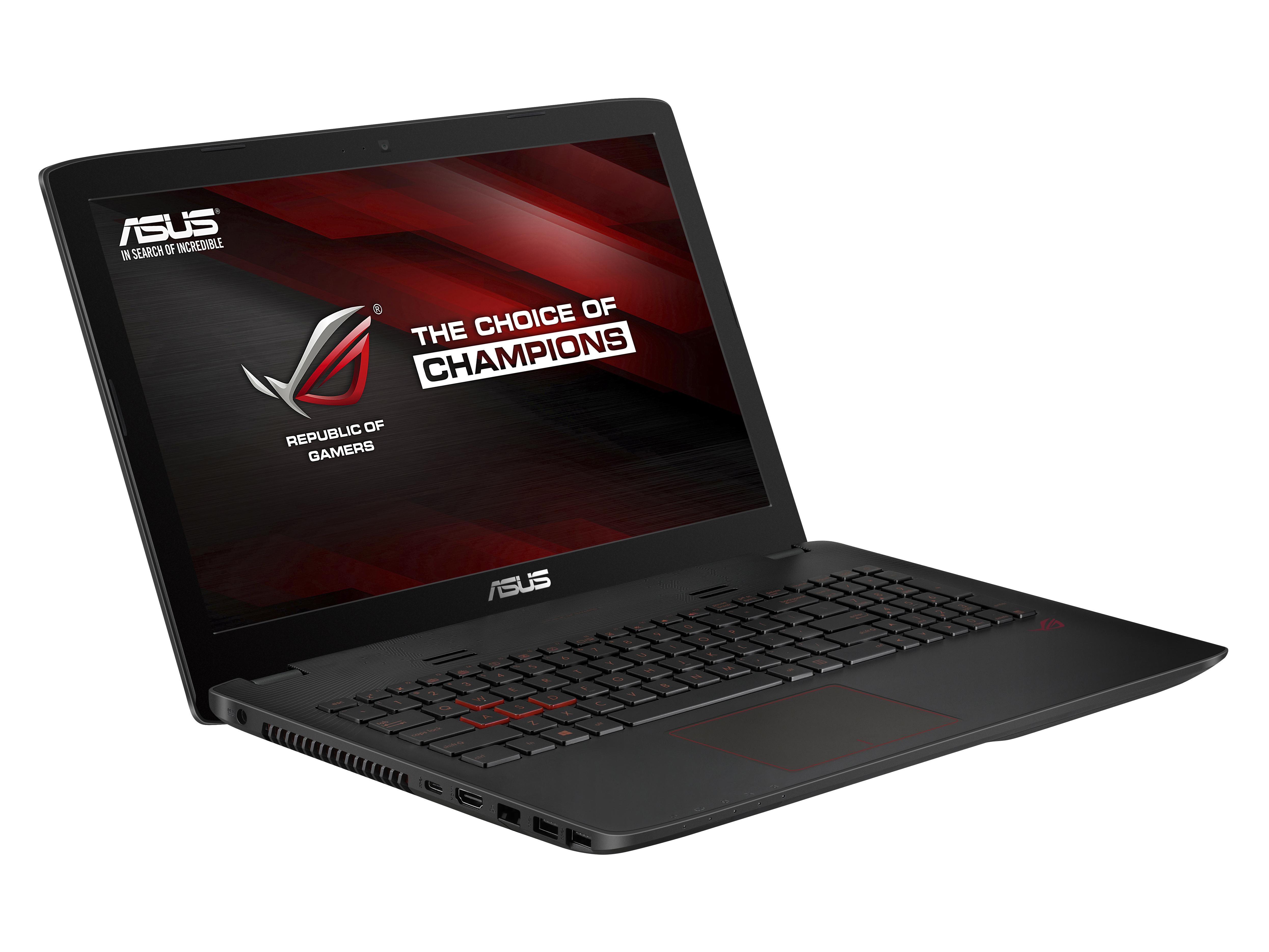 """ASUS GL552VX-CN117T i5-6300H/8GB/1TB HDD + 128GB SSD/DVD-RW/15,6"""" FHD/GTX950M 4GB/Win10/černý"""