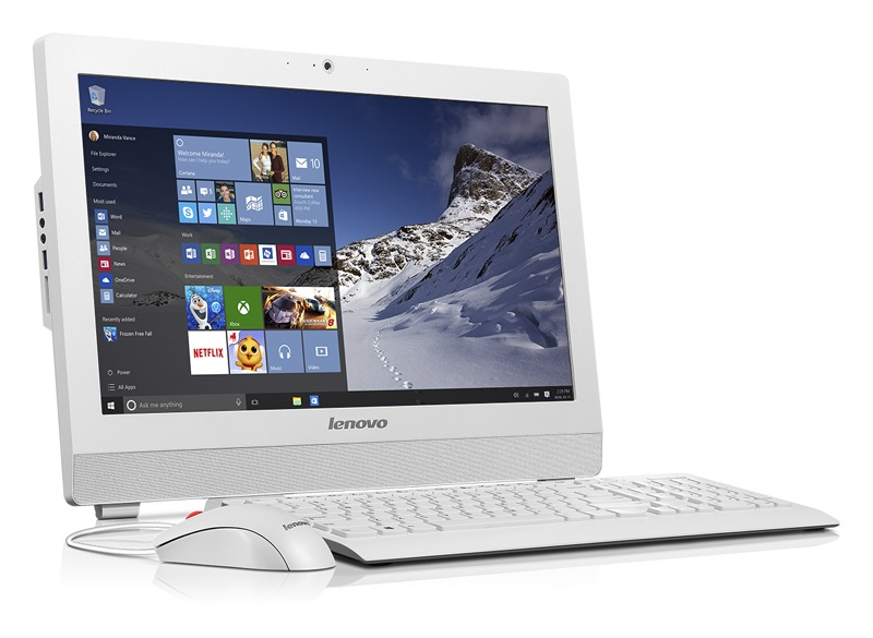"Lenovo AIO SMB S200Z 19,5"" HD+/N3700/4GB/500 GB/HD Graphics/DVD-RW/WebCam/Win7PRO+Win10PRO"