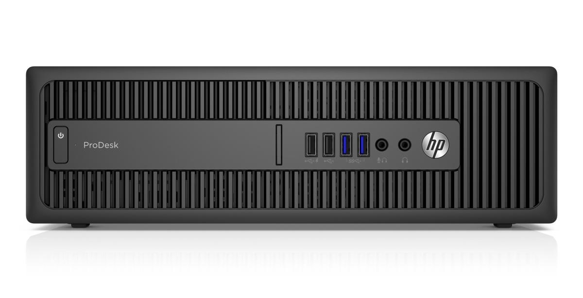 HP ProDesk 600 G2 SFF / Intel i3-6100 / 4GB / 128GB SSD / Intel HD / DVD / W10P+W7P