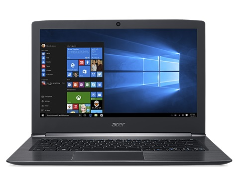 "Acer Aspire S 13 (S5-371-73KE) i7-6500U/8GB DDR3/SSD 512GB/13,3""FHD IPS/HD Graphics/W10 Black"