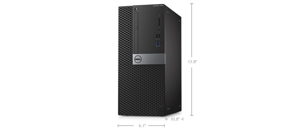 DELL OptiPlex MT 7040 i7-6700/8GB/500GB/Win7/10 Pro/3Yr