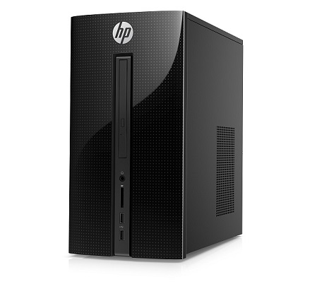 HP PC Desktop 460-p000nc Intel Pentium G4400T,8GB,1TB/7200,DVD R/W,WiFi,AMD Rad R5 330/2GB,USB 3.0,usb key+mou,Win10